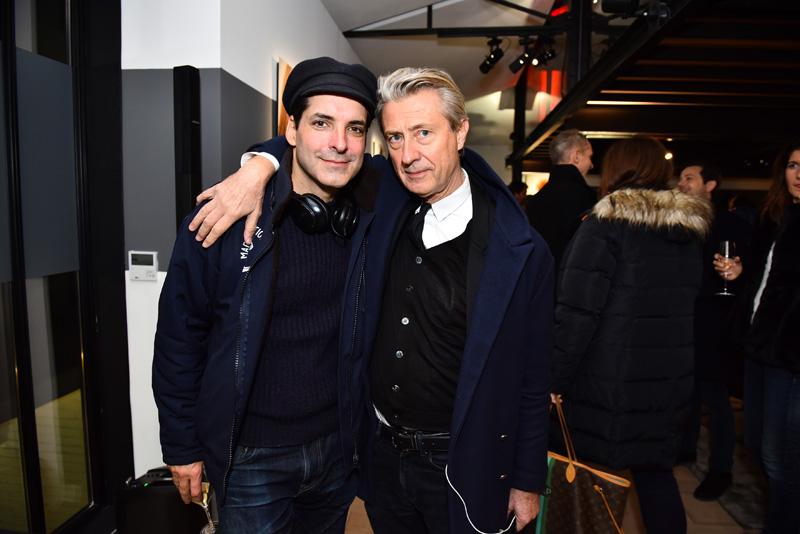 Yan Céh et Jérôme Sans