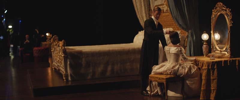 Aleksandra Kurzak dans La Traviata à l'Opéra Bastille 2018-Violetta de Julie Deliquet (c) OnP / Les Films Pelléas