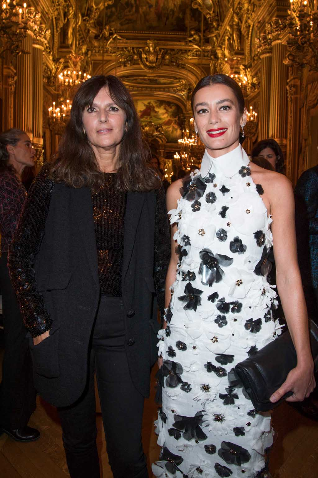 Virginie Viard et Aurélie Dupont