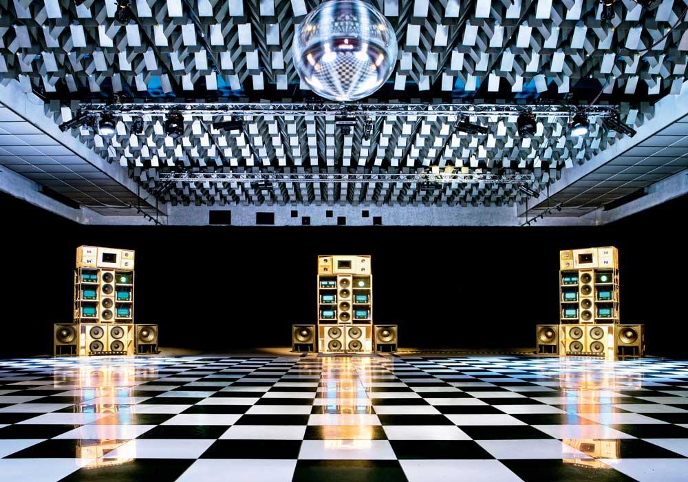 Despacio Sound System, New Century Hall, Manchester International Festival, Juillet 2013. © Rod Lewis