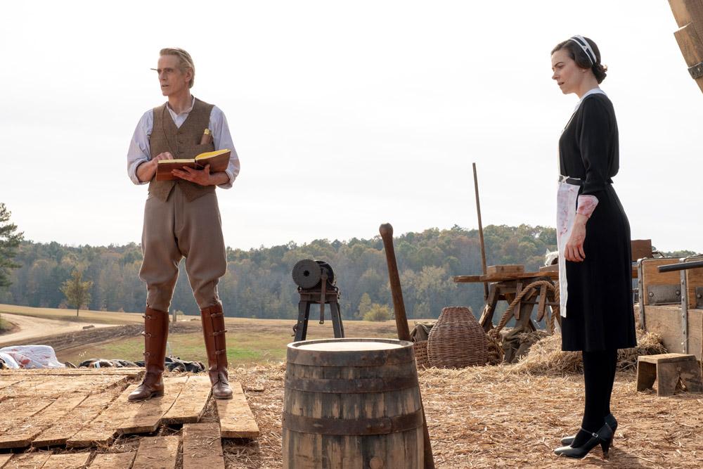 "Jeremy Irons dans ""Watchmen"" – HBO"