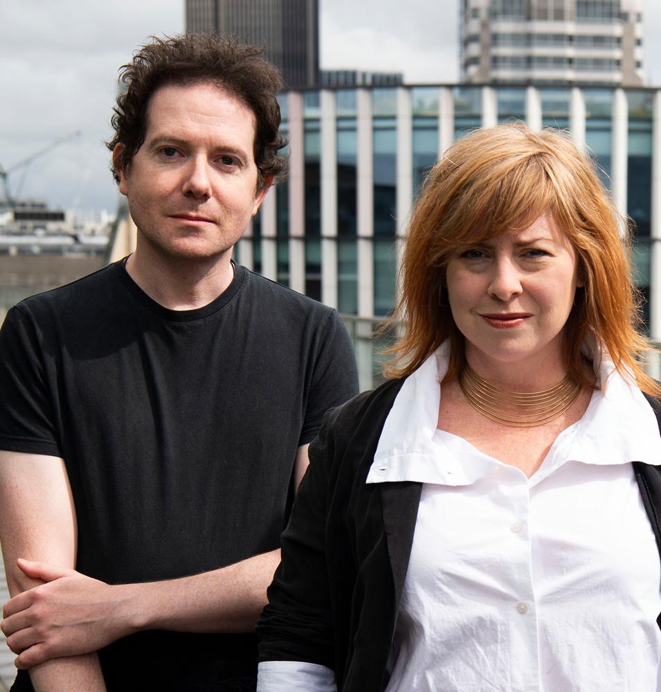 Dr Adam Walker & Cindy Rhoades, Worn Again Technologies