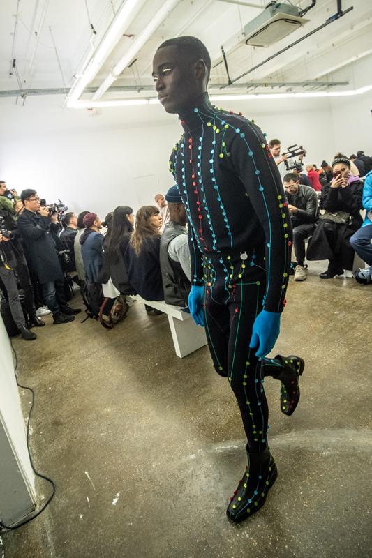 Xander Zhou, collection automne-hiver 2020-2021. Photo : Chris Yates