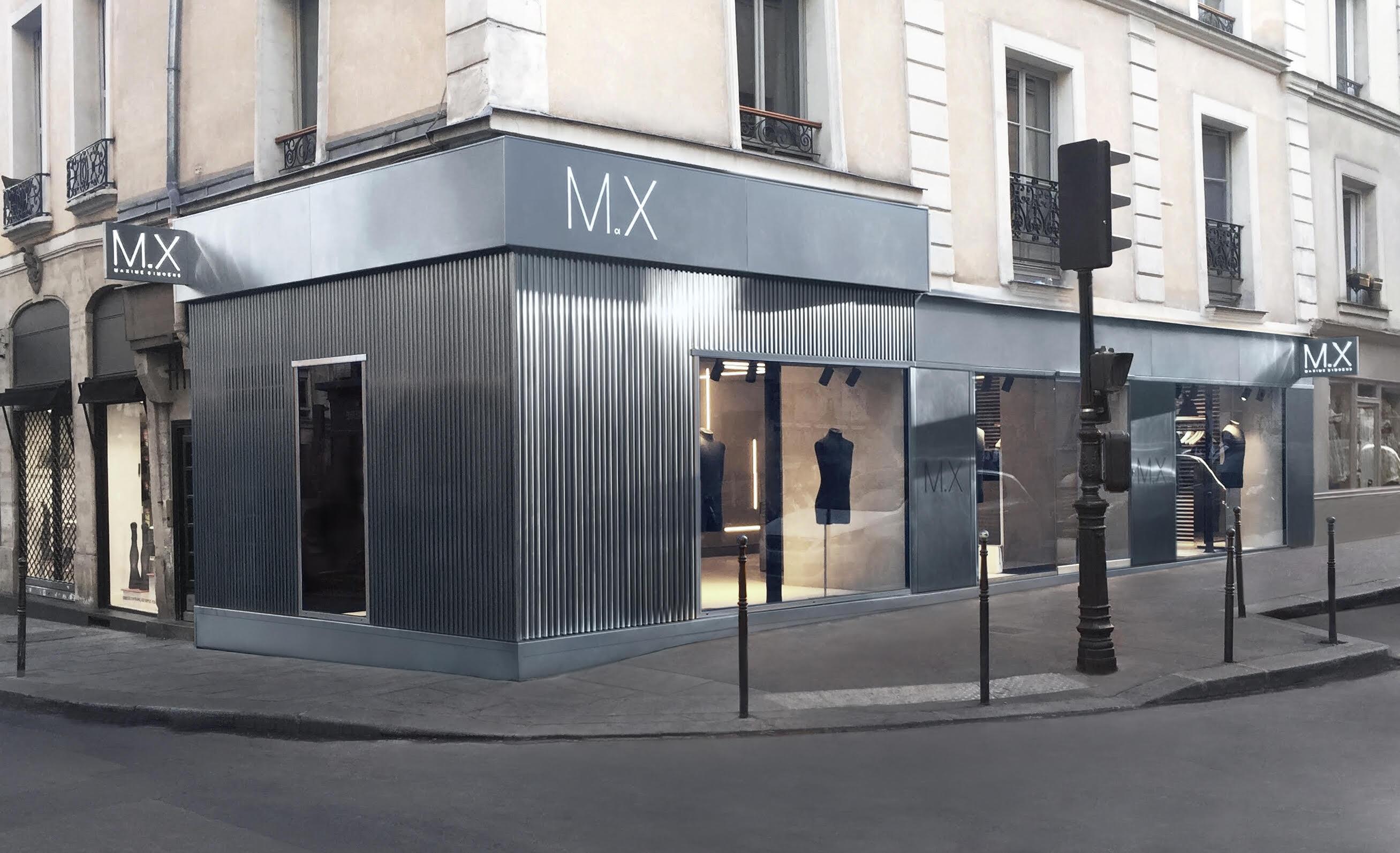 Le flagship, 13 rue Vieille-du-Temple à Paris
