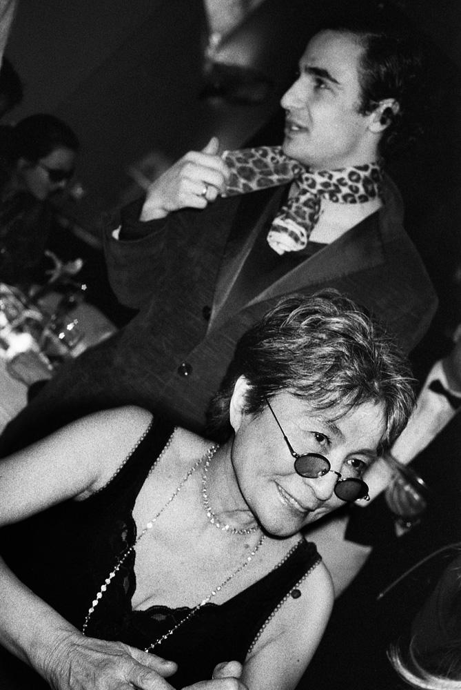 Yoko Ono et Zac Pose, New York, 2003