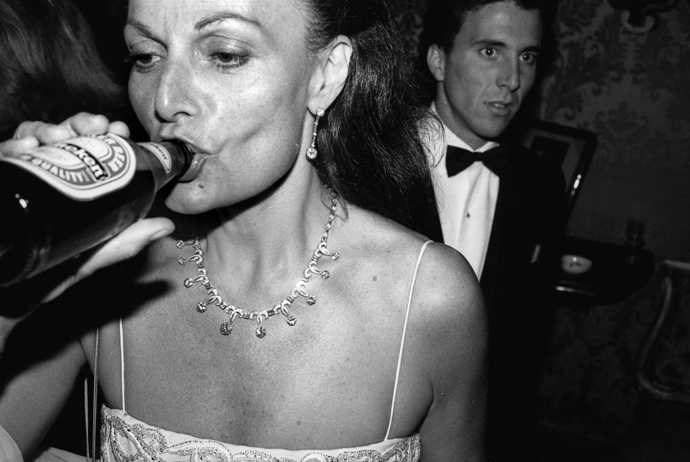 Diane Von Furstenberg, Venise, 1991