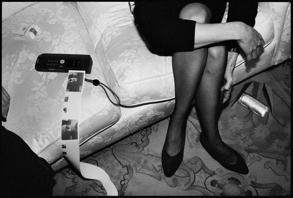 Fanny Ardant, Antibes, 1990