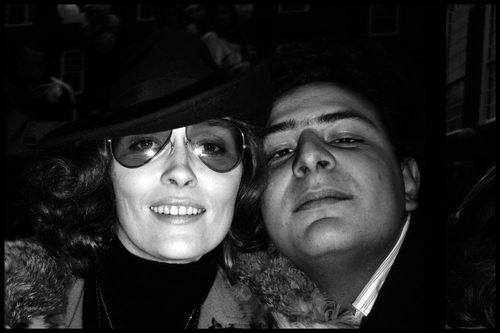 Faye Dunaway et Jean Pigozzi, 1973