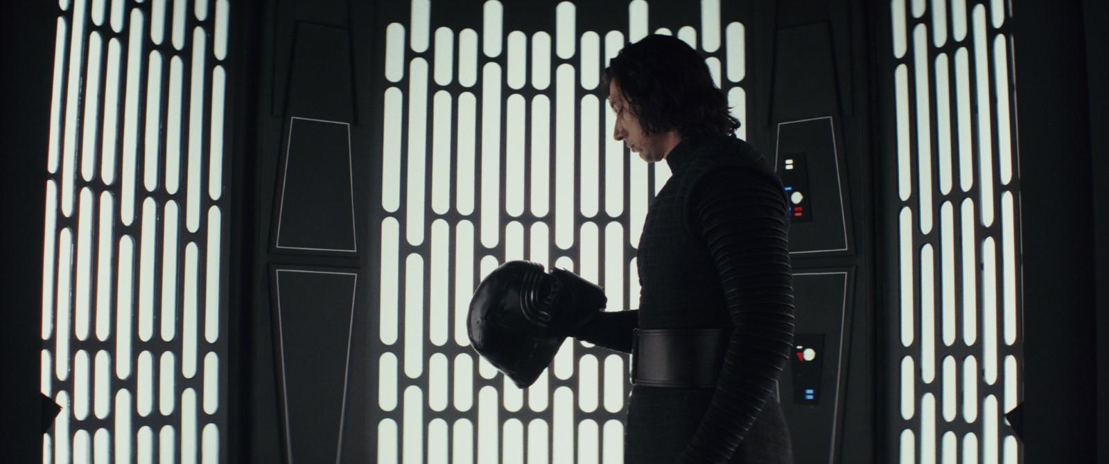 "Adam Driver dans ""Star Wars - Les derniers Jedi"" (2017) de Rian Johnson."