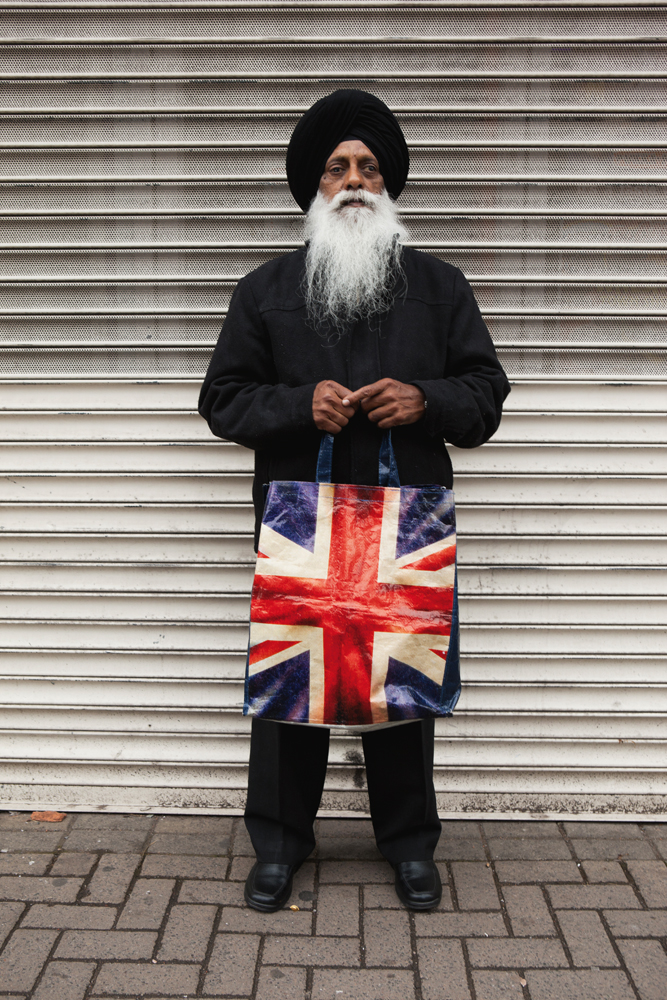 Martin Parr, Harbhajan Singh, Willenhall Market, Walsall, the Black Country, 2011. © Martin Parr / Magnum Photos.