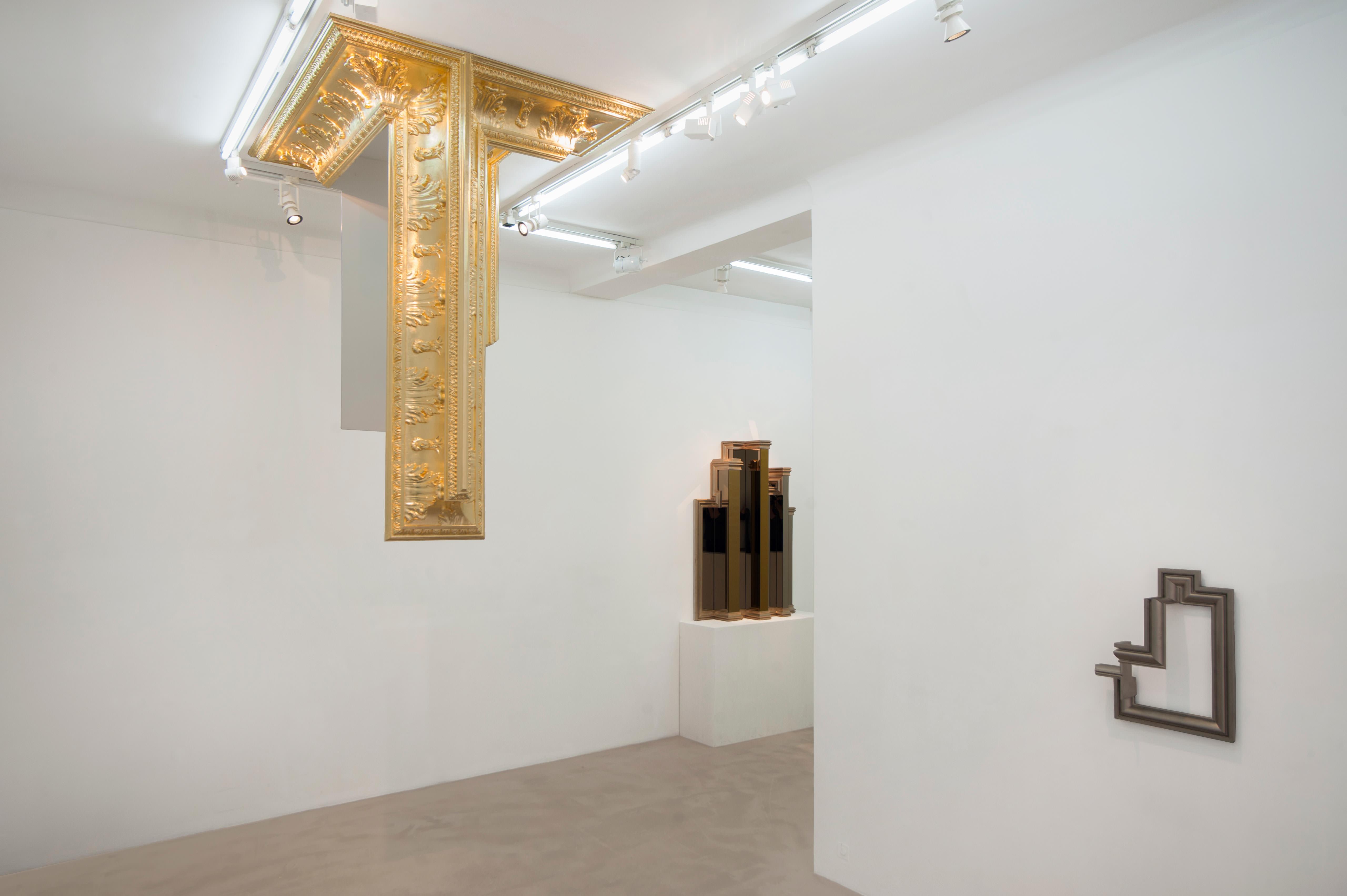 """L'exposition """"Ornementation Brutaliste"""" de Mathias Kiss à la galerie NextLevel en 2015"""