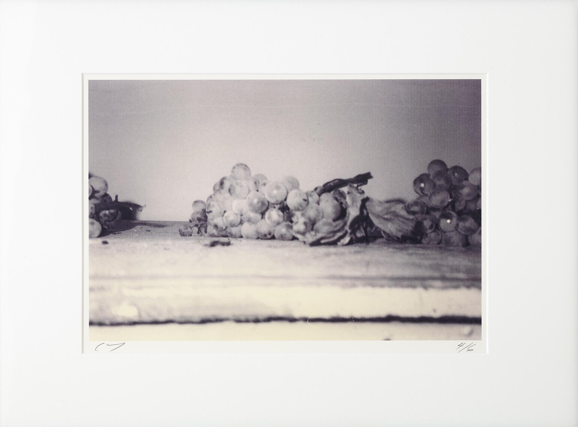 """Cy Twombly, 1997, """"Grapes"""" (Gaeta). © Fondazione Nicola Del Roscio. Courtesy archives Fondazione Nicola Del Roscio."""