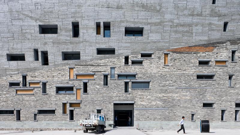 Musee histoire de Ningbo 2008 ©Iwan Baan