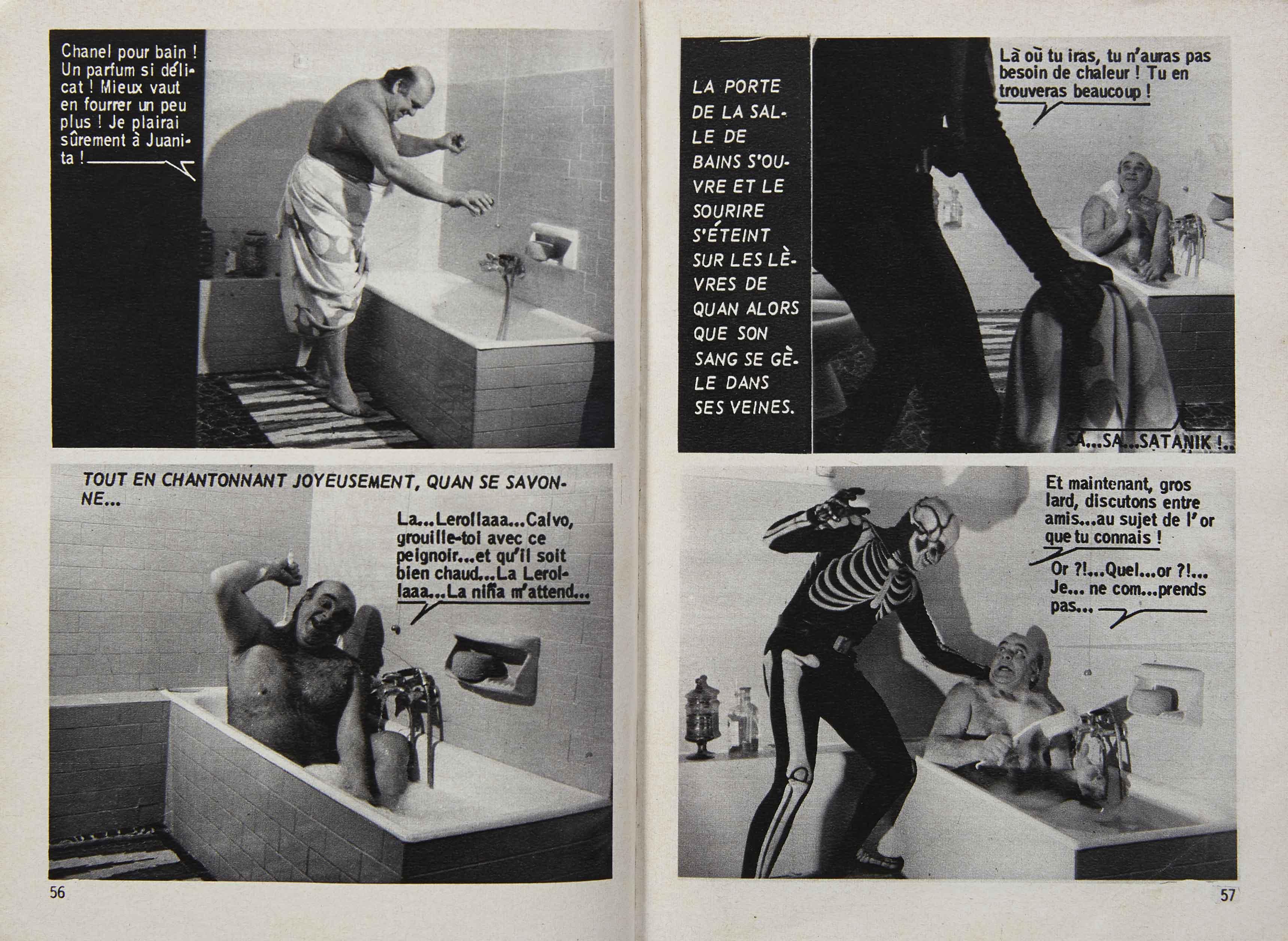 Satanik (1967). Josselin Rocher.