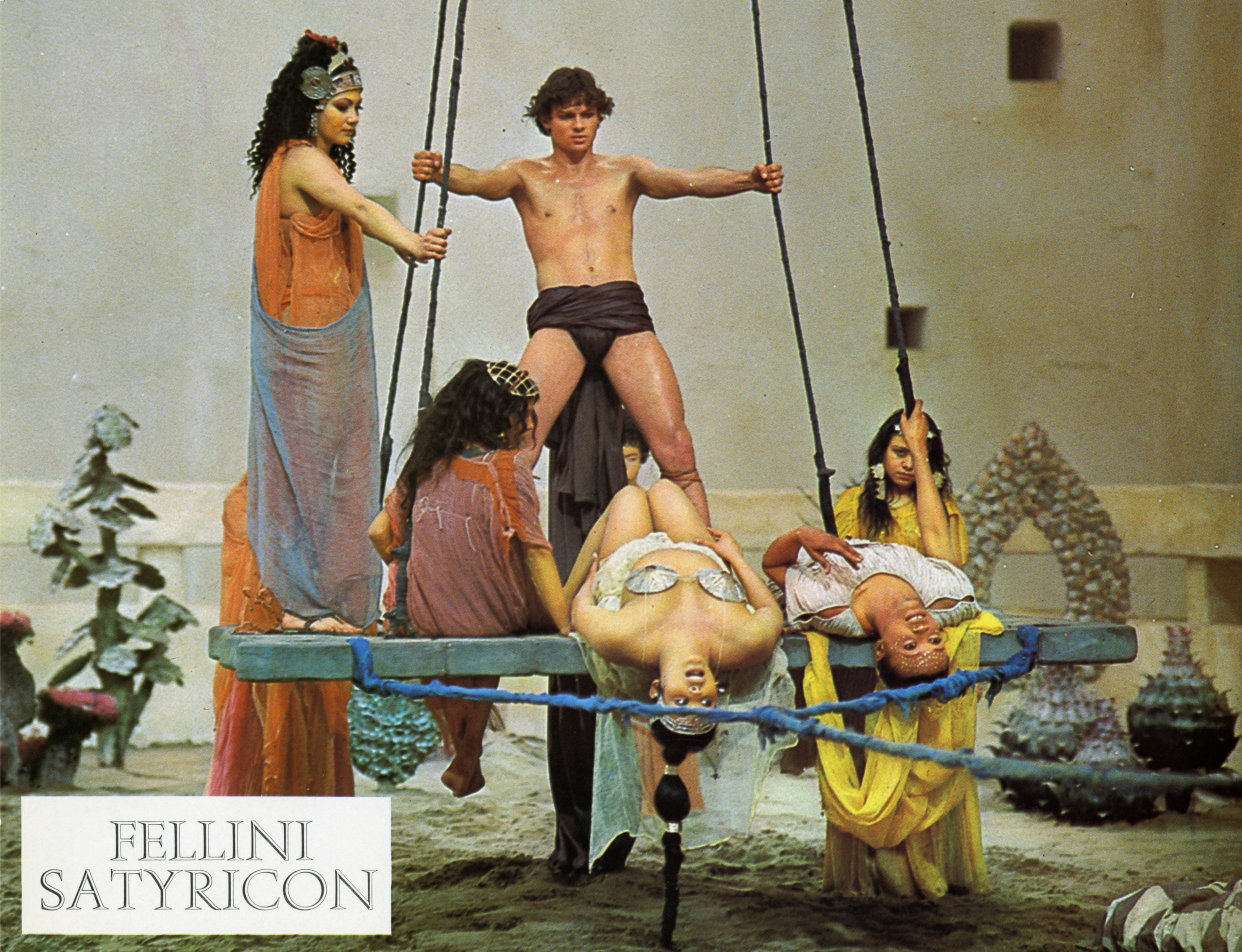 """Satyricon"" de Federico Fellini, 1969, @1969 Alberto Grimaldi Productions S.A. All Rights Reserved."