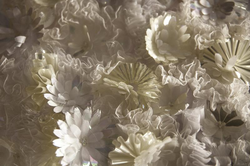 Fleurs réalisées par Lemarié.