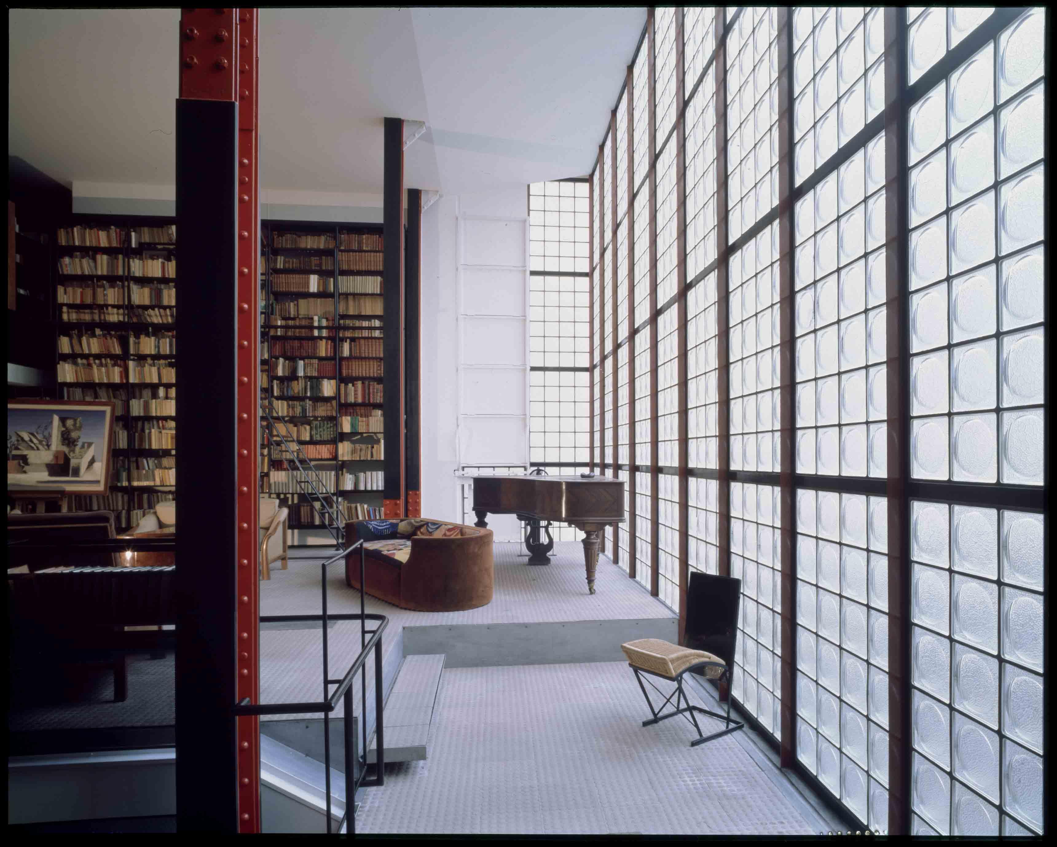 Pierre Chareau, Maison de Verre, 1928-1932 © Centre Pompidou, MNAM/CCI Georges Meguerditchian Distr. RMN-GP