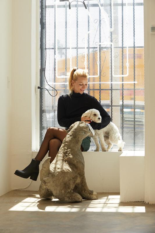 Karolina Dankow de la galerie Karma International.
