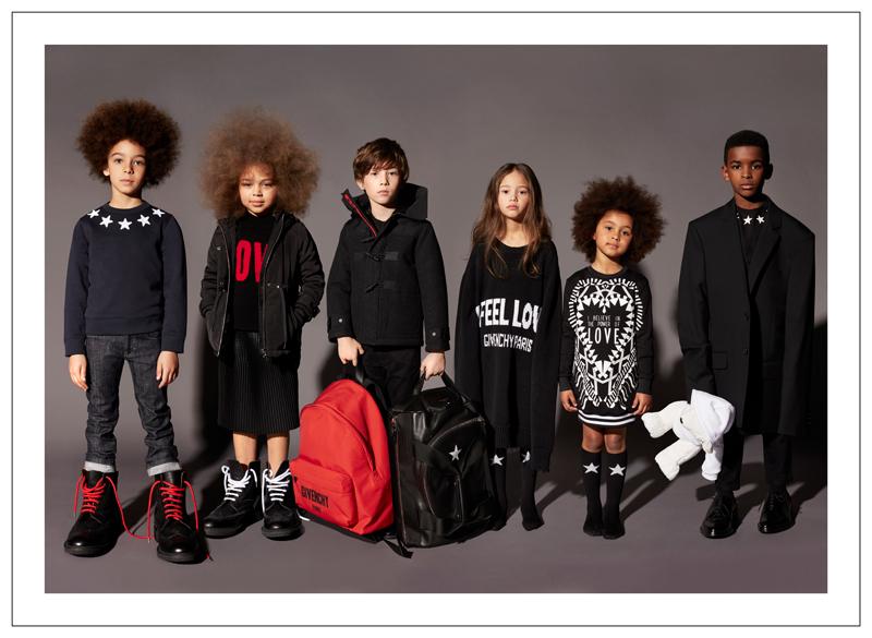 Givenchy Kids première collection automne hiver 2017 2018