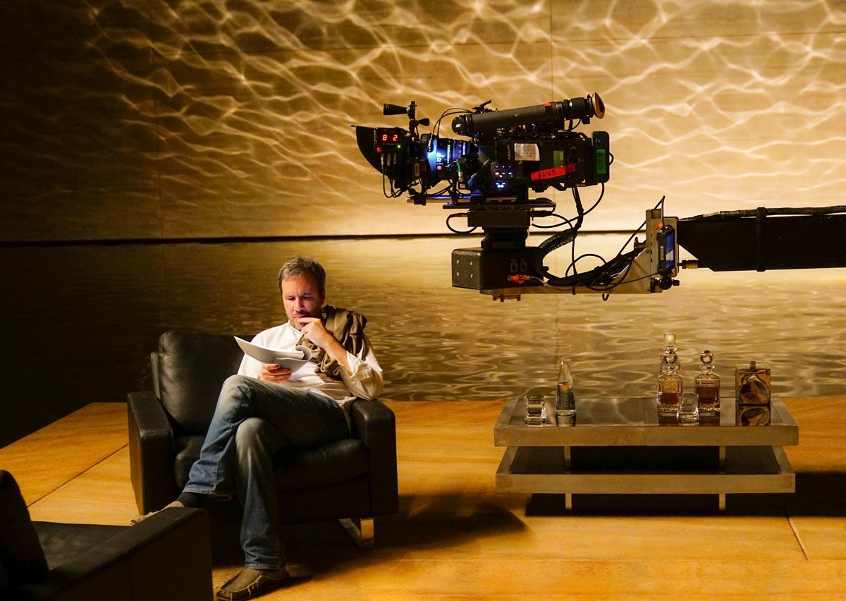 """Denis Villeneuve sur le plateau de """"Blade Runner 2049"""""""