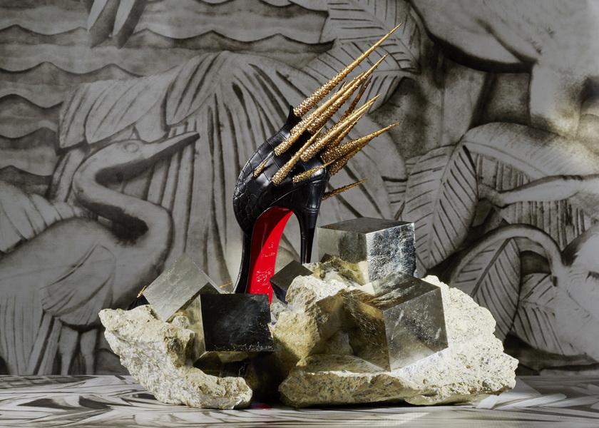 Pyrites + soulier Zuleika - © Jean-Vincent Simonet