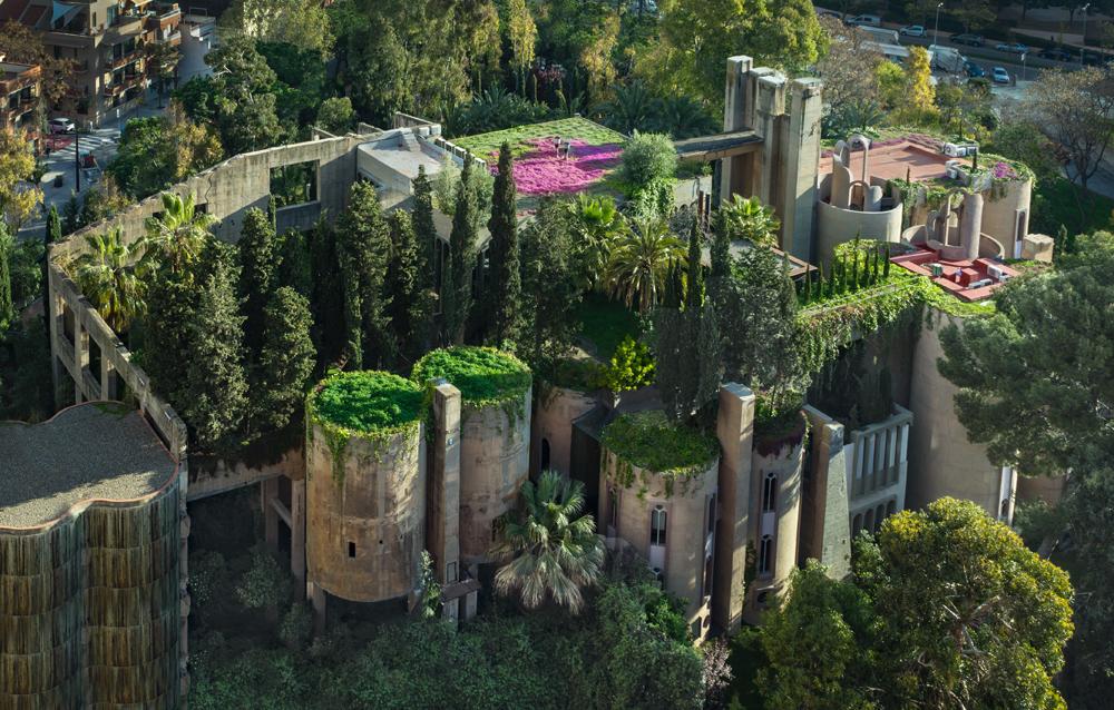La Fábrica, résidence privée, studio de Ricardo Bofill, et lieu d'exposition près de Barcelone, réalisée par Ricardo Bofill et son studio Taller de Arquitectura, 1973. Courtesy of Ricardo Bofill, Taller de Arquitectura. Ricardo Bofill, gestalten 2019.