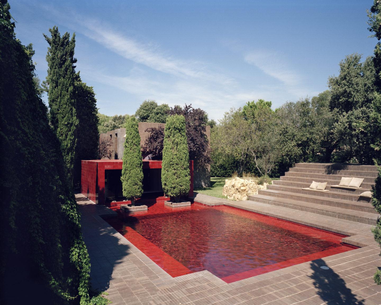 Family House, maison de vacances dans la campagne de Barcelone réalisée par Ricardo Bofill pour sa famille, 1973. Courtesy of Ricardo Bofill Taller de Arquitectura. Ricardo Bofill, gestalten 2019.