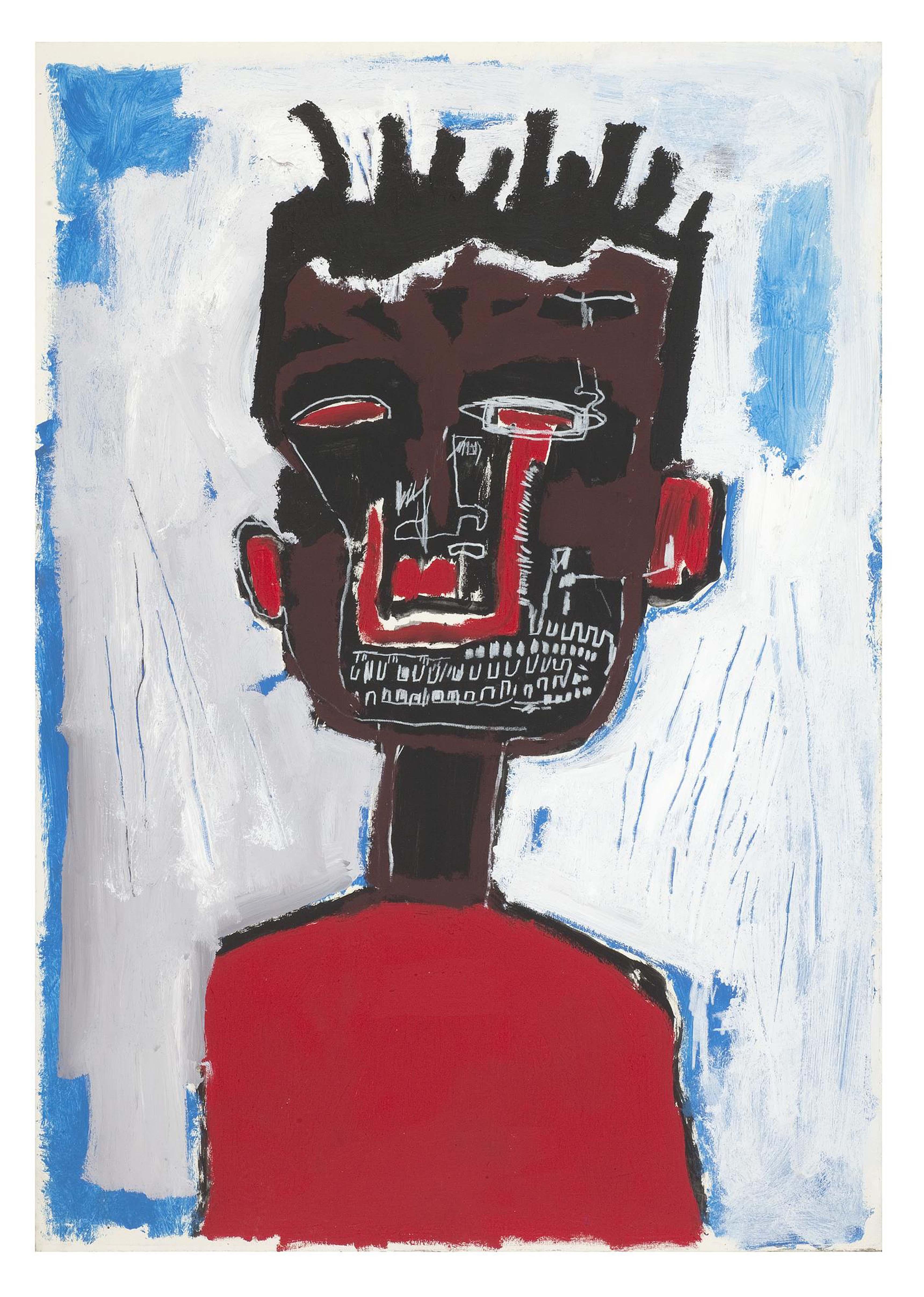 Jean-Michel Basquiat, Self Portrait, 1984, Private collection.