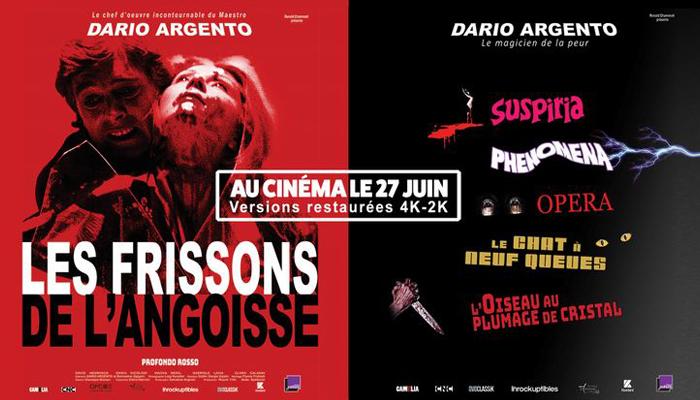 L'affiche de la rétrospective sur Dario Argento.