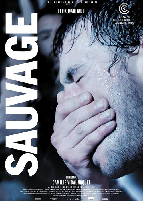 """L'affiche du film """"Sauvage""""."""