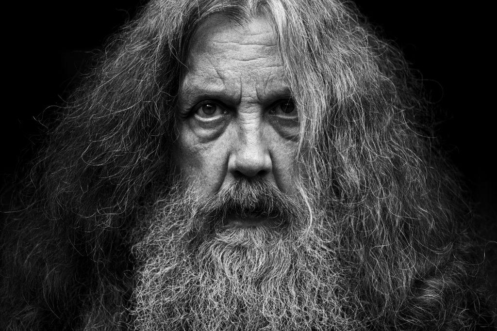 Alan Moore, portrait par Mitch Jenkins