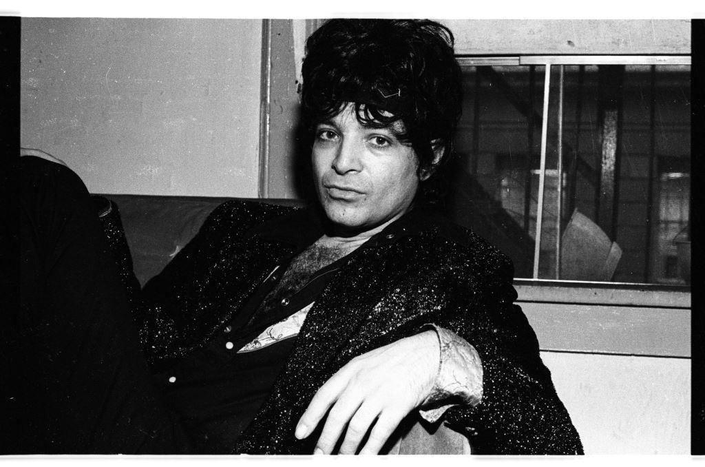 Alan Vega, photo par Pierre René Worms