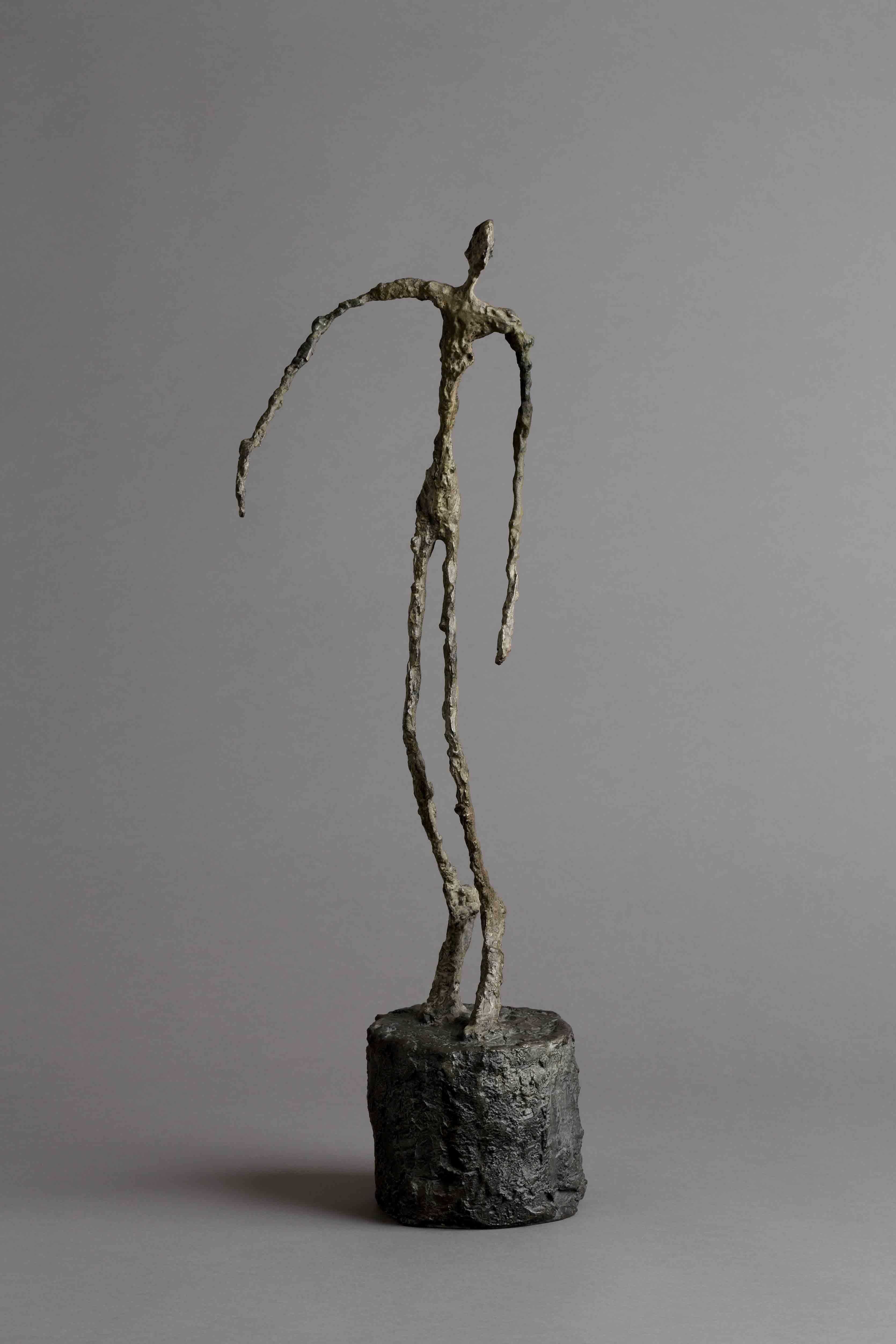 Alberto Giacometti, L'homme qui chavire, 1950.