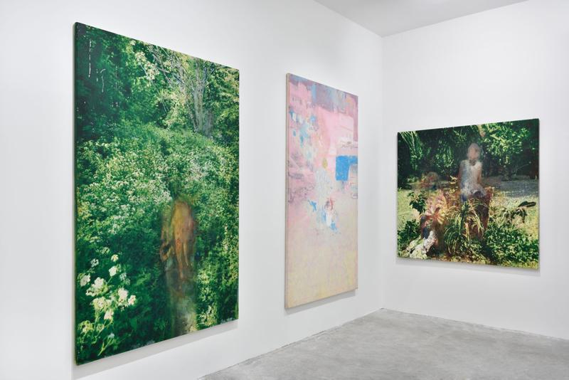 Alexandre Lenoir. Vue de l'exposition à la galerie Almine Rech (mars 2020)