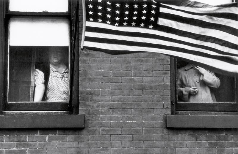 """Parade – Hoboken, New Jersey"", Robert Frank."