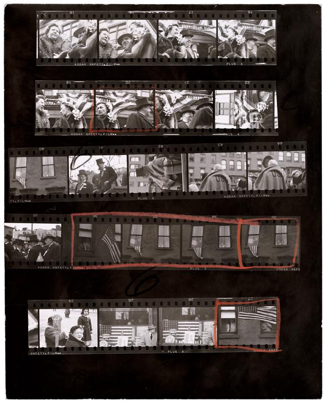 """Planches de Robert Frank extraites de l'ouvrage """"Les Américains"""". Courtesy Steidl."""