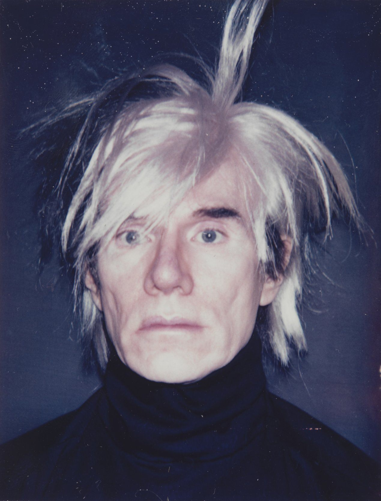 Andy Warhol Self-Portrait with Fright Wig, 1986. © 2019 The Andy Warhol Foundation for the Visual Arts, Inc. / Artists Rights Society (ARS), New York