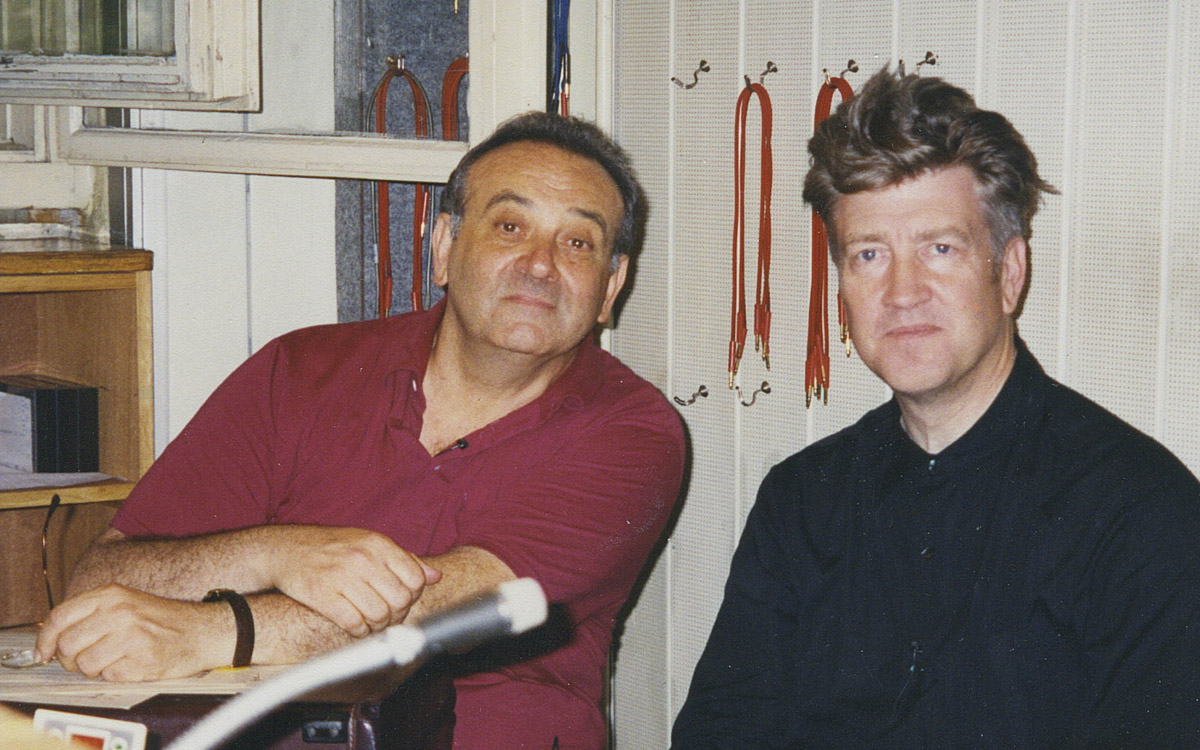 Angelo Badalamenti et David Lynch en 1996.