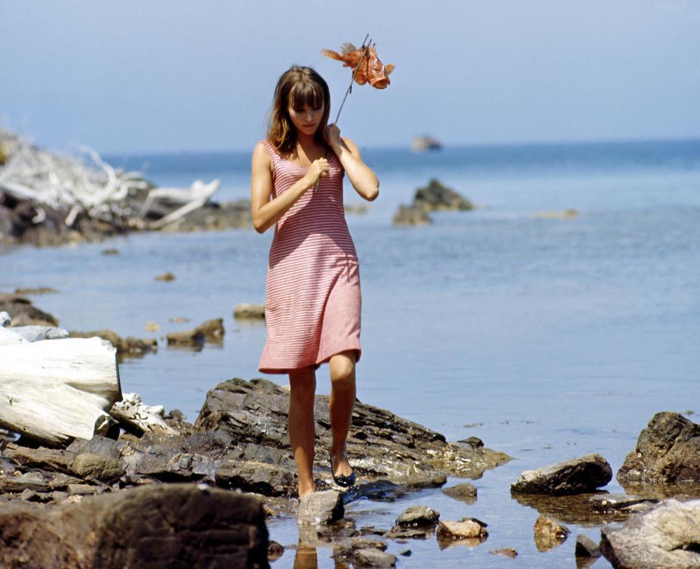 "Anna Karina dans ""Pierrot le fou"" (1965) de Jean-Luc Godard"