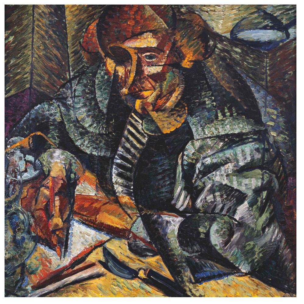 """""""Muse Metafisiche"""" (1918) Collezione Fondazione Francesco Federico Cerruti per l'Arte, long-term loan Castello di Rivoli Museo d'Arte Contemporanea, Rivoli-Torino."""