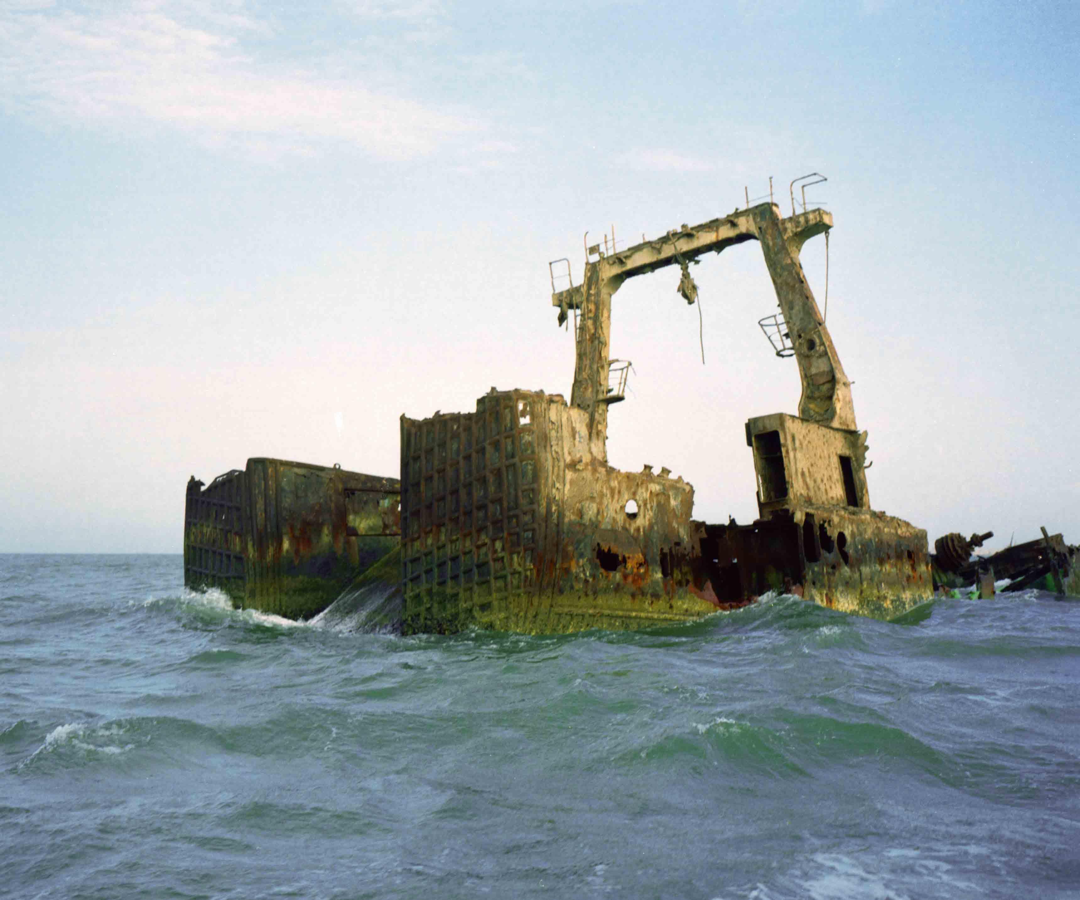 """""""Maritime Nonsense And Other Aquatic Tales"""" (2009) de Zineb Sedira."""