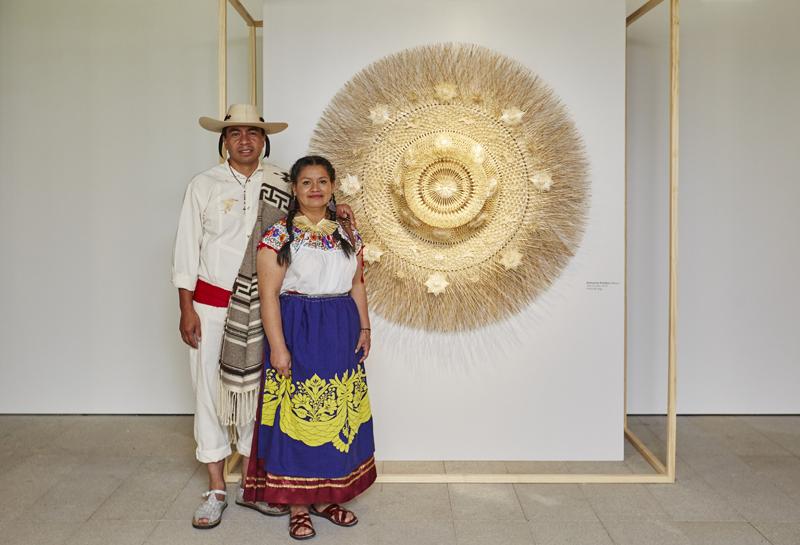 "Artesanías Panikua, Mexico. ""Tata Curiata"", 2016. Wheat fiber."