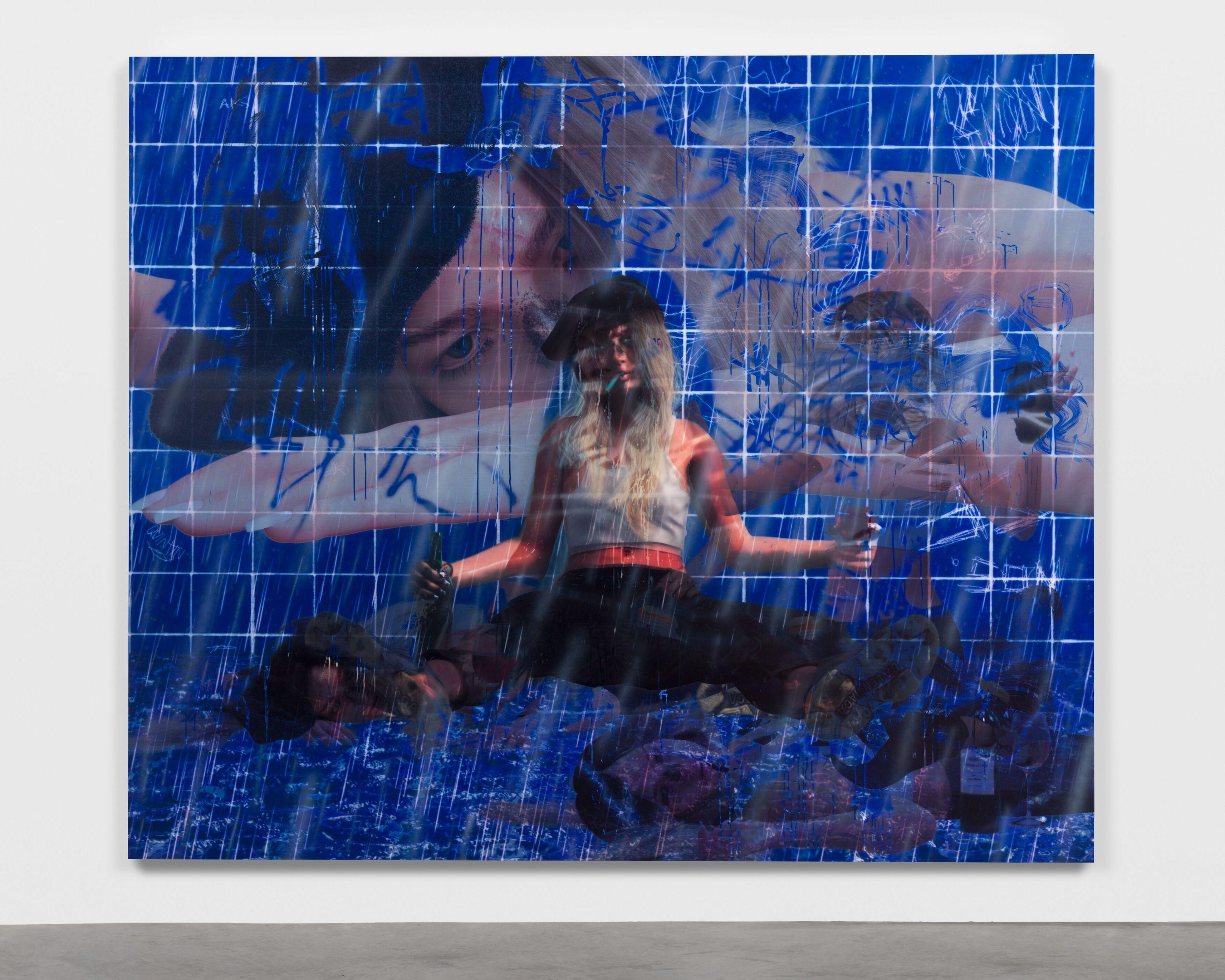 """""""Jordan"""" (2019) d'Avery Singer. Courtesy of the artist, Hauser & Wirth and Kraupa-Tuskany Zeidler, Berlin."""
