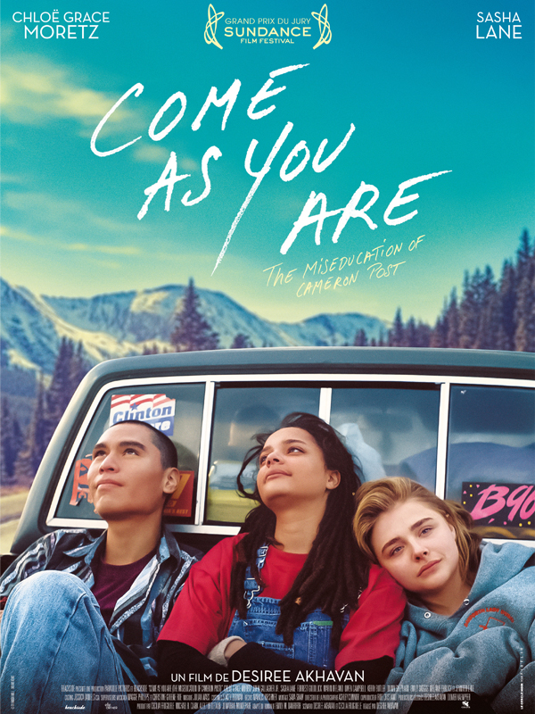 "L'affiche du film de Desiree Akhavan, ""Come As You Are""."