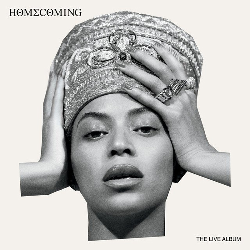 "Pochette de l'album ""Homecoming: The Live Album"" de Beyoncé"