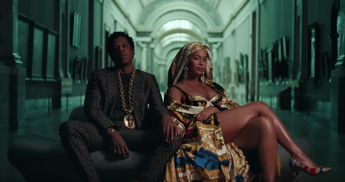 """Beyoncé et Jay-Z dans le clip """"APESHIT""""."""