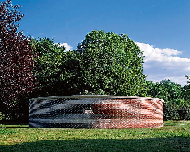Sanctuarium (1997) de Herman de Vries, Skulptur Projekte à Münster en 1997.