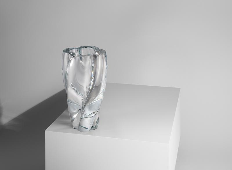"""Le """"Blossom Vase"""" réalisé par le Japonais Tokujin Yoshioka."""