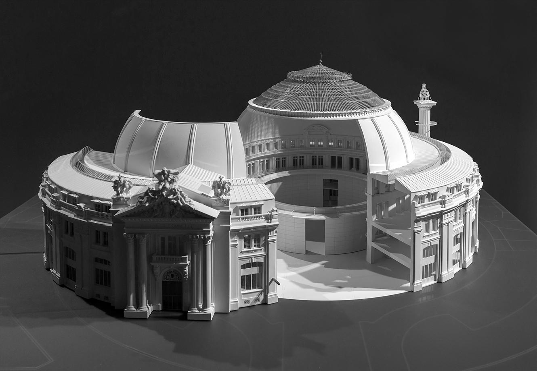 Le projet de la Bourse du commerce à Paris par Tadao Ando pour la collection Pinault.