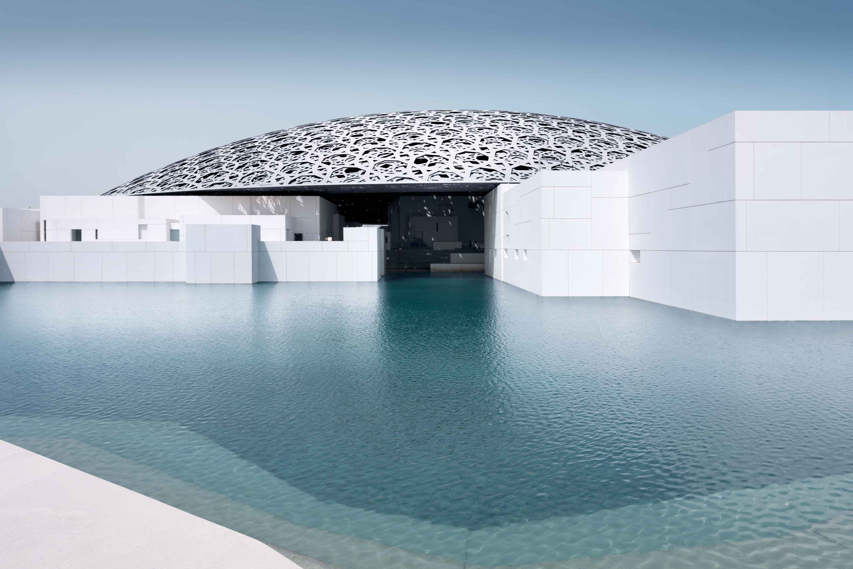the abu dhabi louvres by jean nouvel